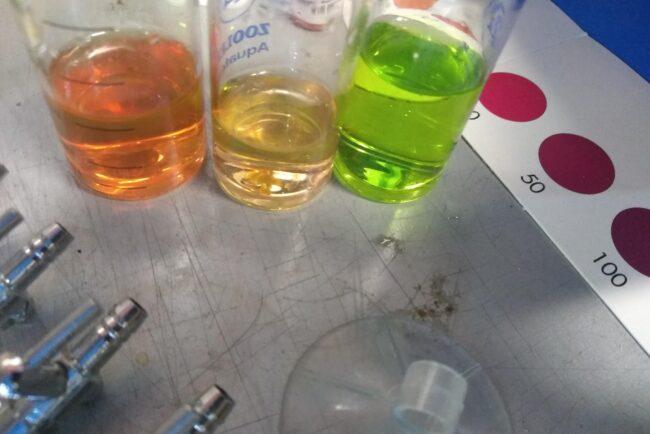 Testy wody wartość pH
